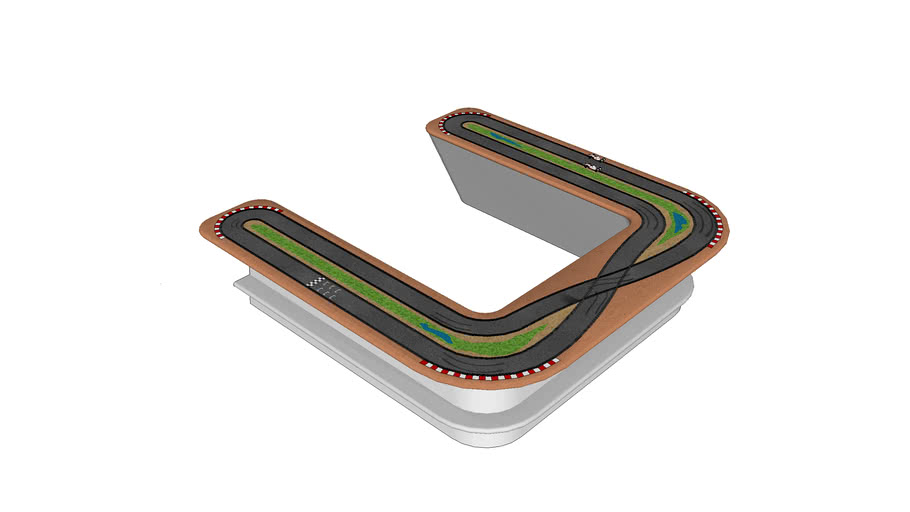 Scalextric Meeting Table