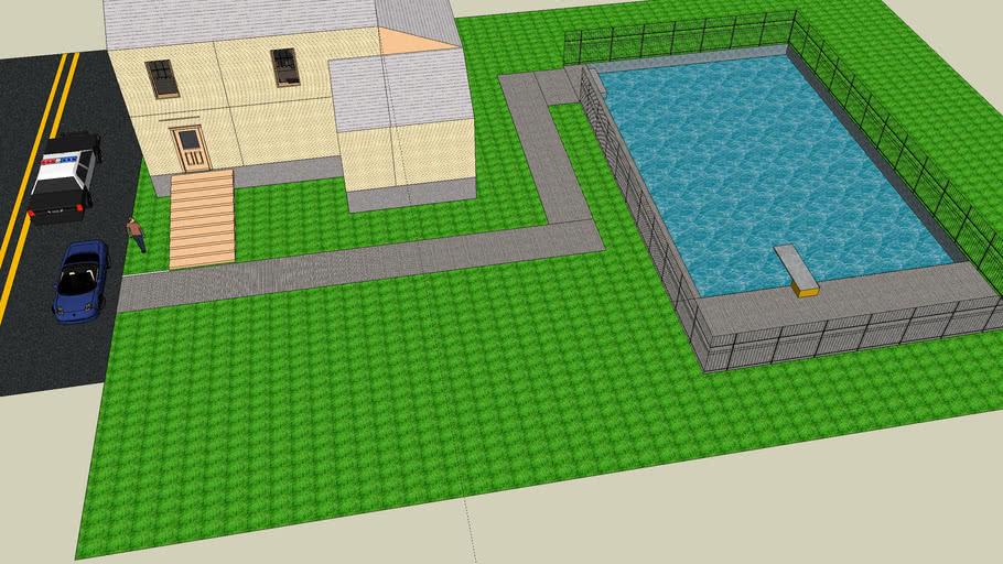 Nice house with pool