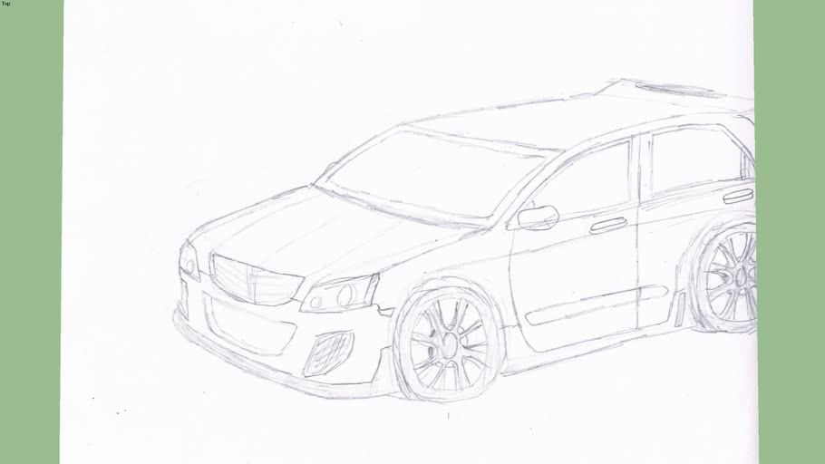 xrw960h's Hatchback My Drawing!