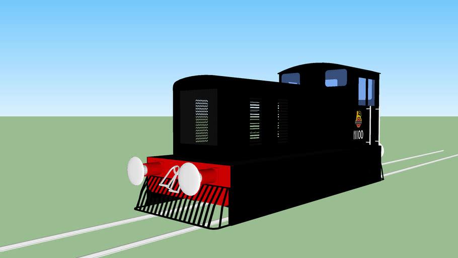 British Railways No. 11100 (1952)