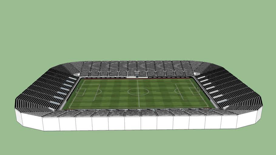 12,936 All Seating Soccer Stadium