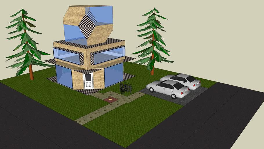 Stylish small City House