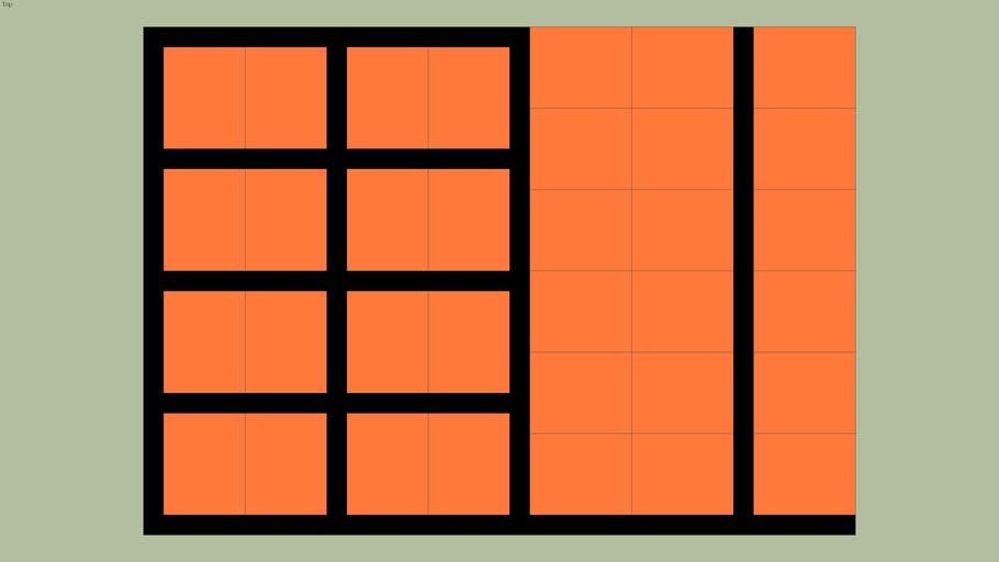 kavelverdeling oranje