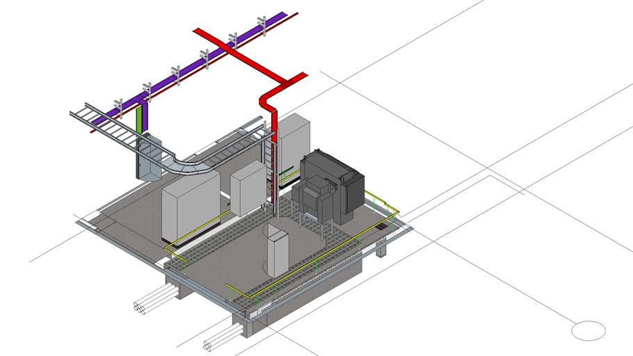 TIQ Block S8 Ground Floor Switch Room Coordination & Layout Rev 4.2