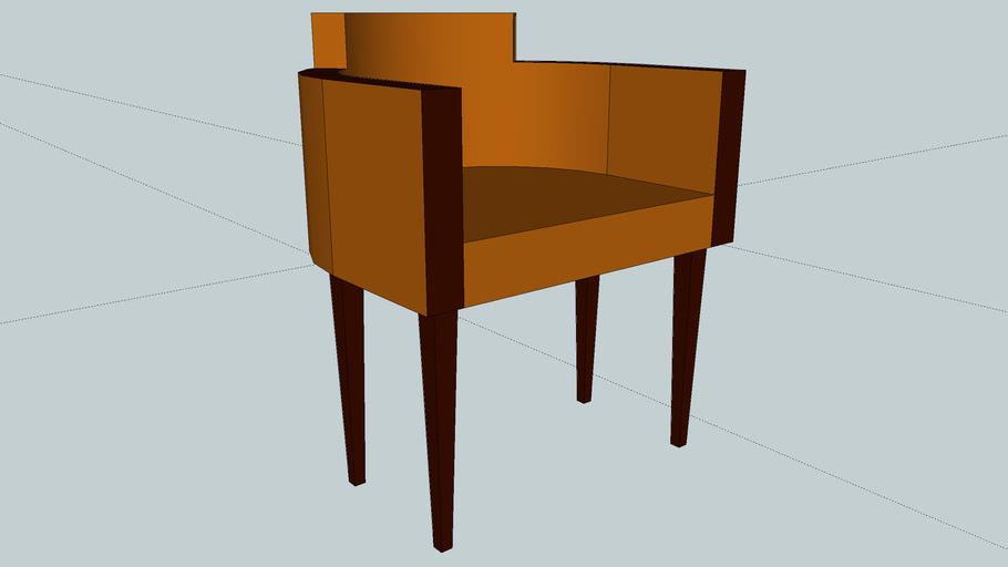 tan chair
