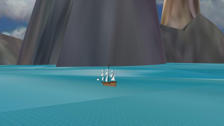 PIRATE AND SCENARIO FULL SHIP