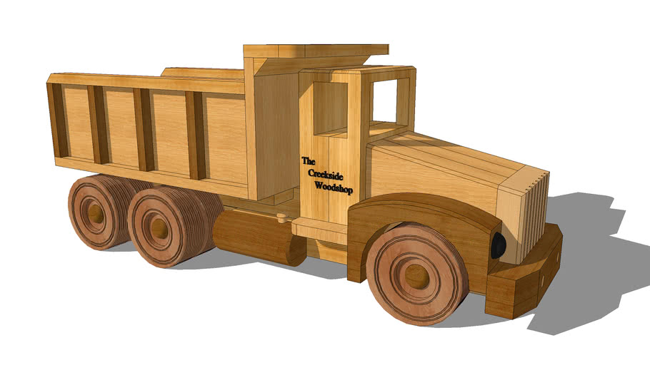 Construction Grade Toy Dump Truck