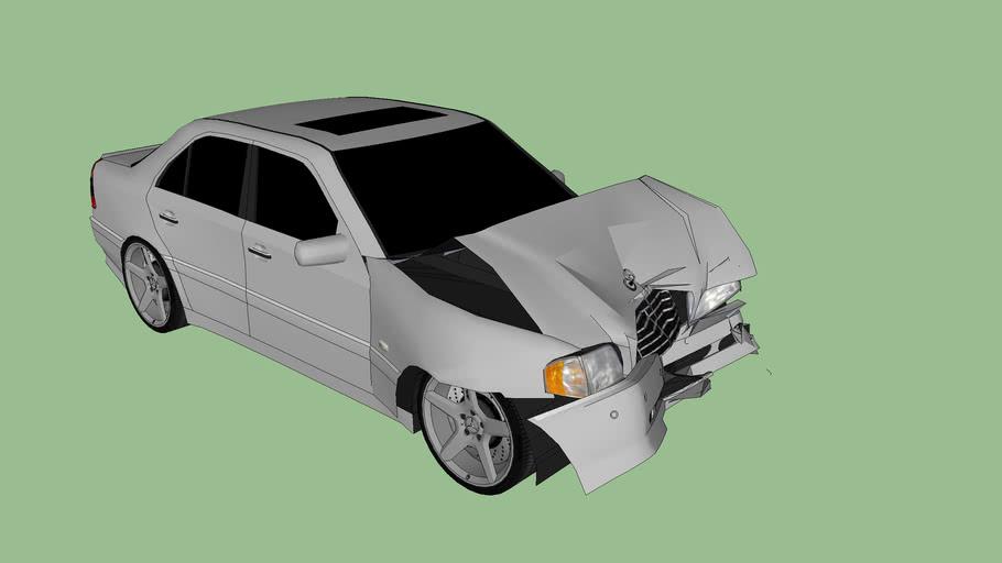 Mercedes Wreck
