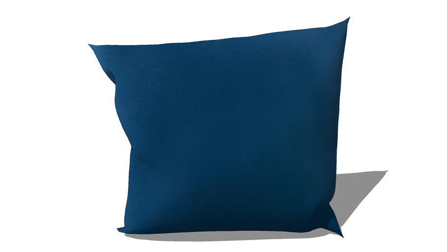 Coussin d'extérieur bleu 50 x 50 cm REF 156828 PRIX 18.90€