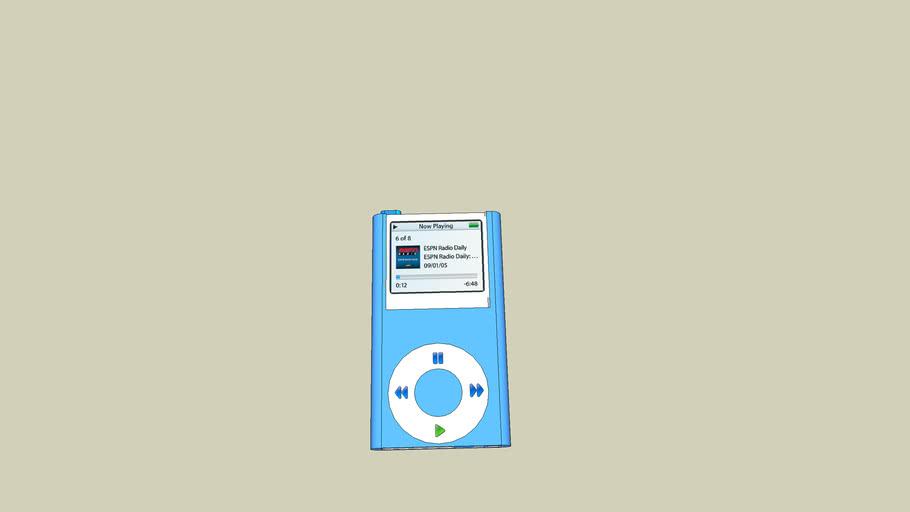Ipod Blue 3G