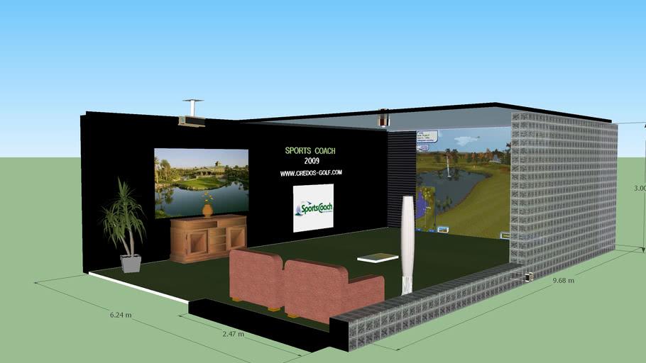 Golf Simulator Monar Centrum Bratislava