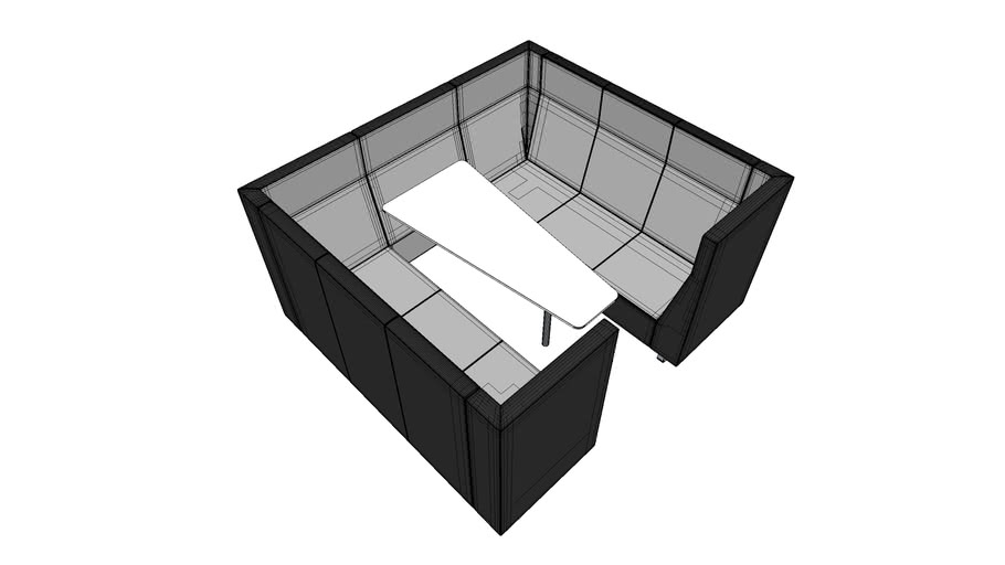 Acoustic furniture box by Bejot - VOO VOO VV 923 BOX