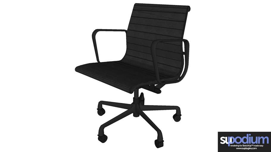 Podium Browser Eames Aluminium Office Chair 3d Warehouse