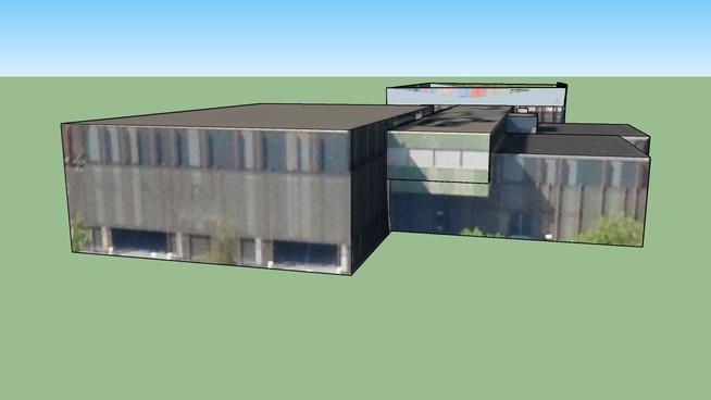 Sportcomplex Caland in Amsterdam, Nederland