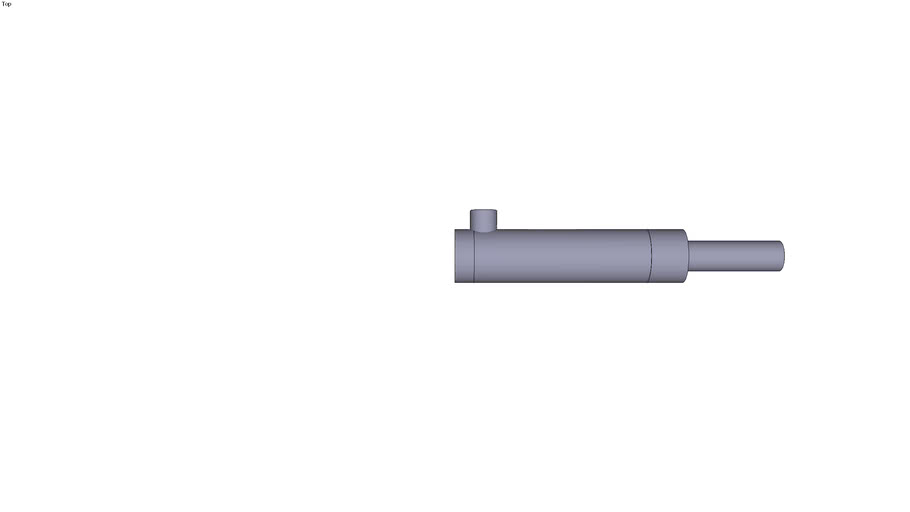 Plunger Cylinder without fixation Type 970.../ 16 Stroke 0 mm Mounting dimension 170 mm