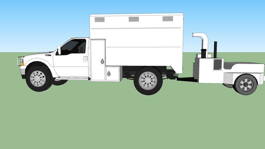 Tree Service Truckk