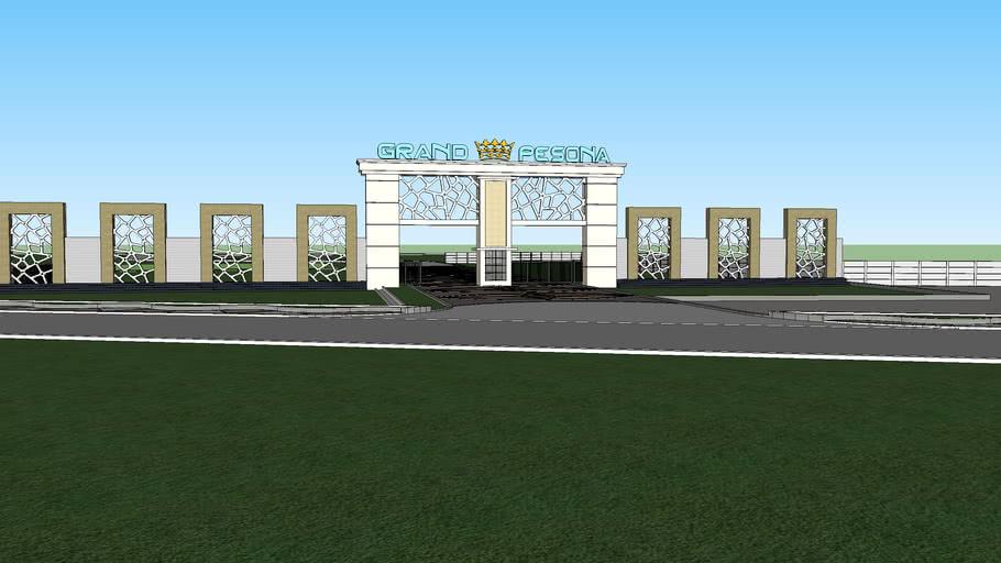 Gate Perumahan Grand Pesona