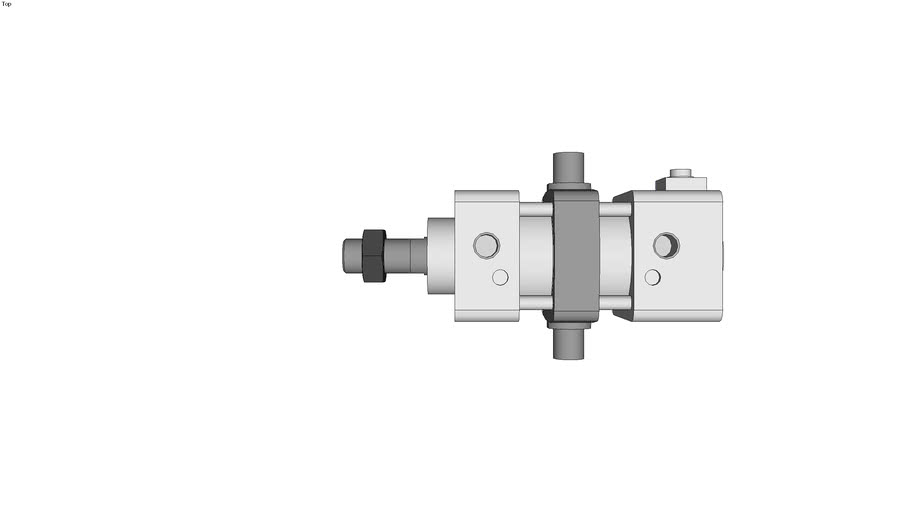 Air Cylinder With End Lock