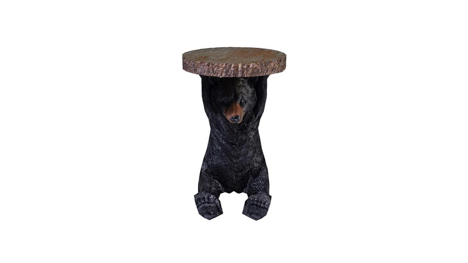 83254 Side Table Animal Mini Bear