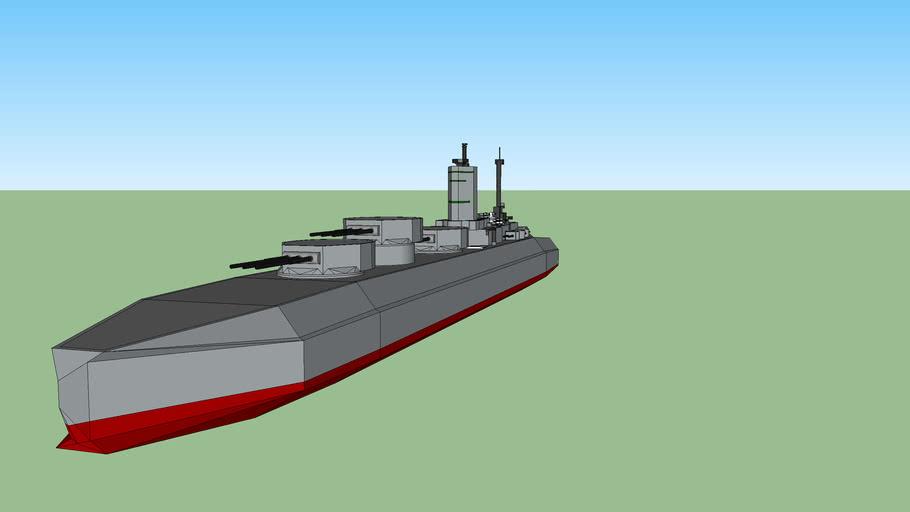 Nelson class space battleship