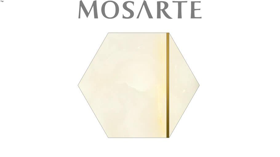 Mosarte Ávola Ônix Branco Gold (702448)