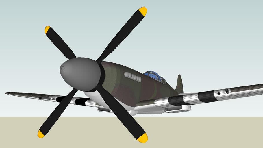 Supermarine Spitfire world war 2 fighter aircraft