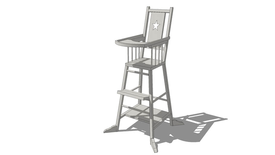 Chaise haute pour bébé taupe SONGE, Maisons du monde. Réf: 143904, Prix: 129,90 €