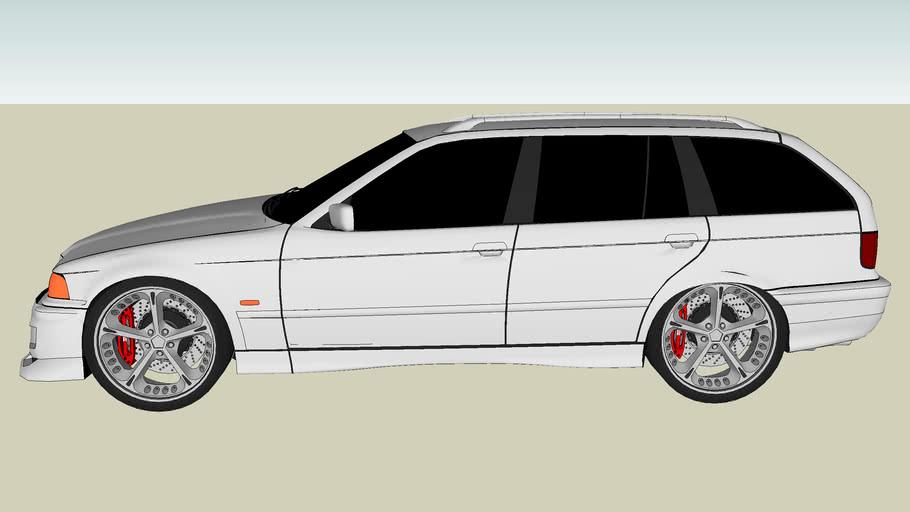 Modified BMW 325I Touring