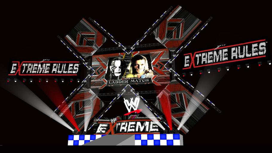 WWE Extreme Rules 2009 set