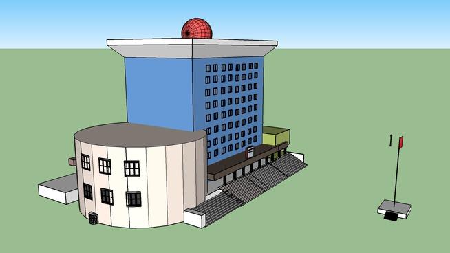 黄河科技学院 信息大楼