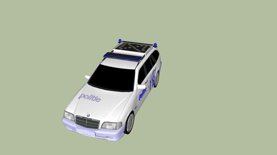 lokale politie wagen