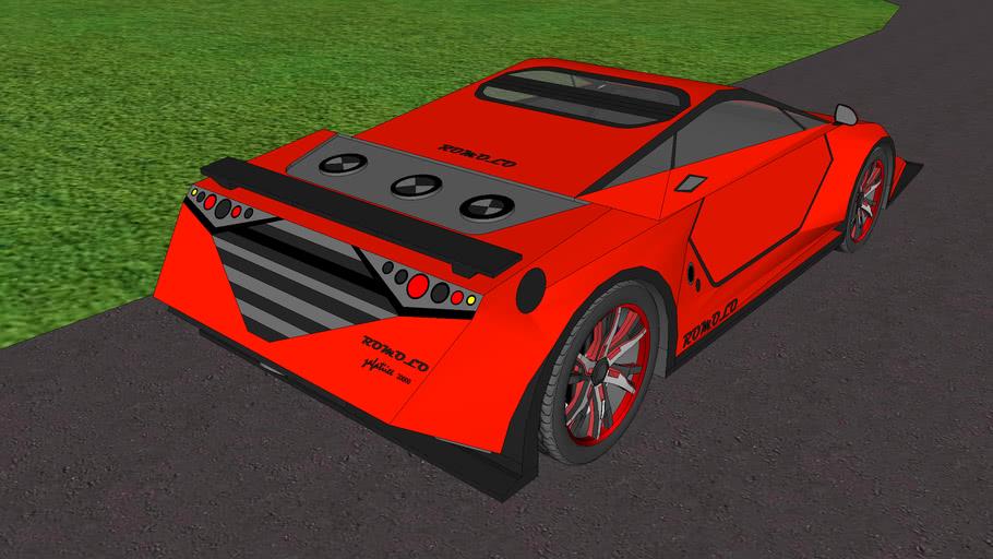 lambogini car design