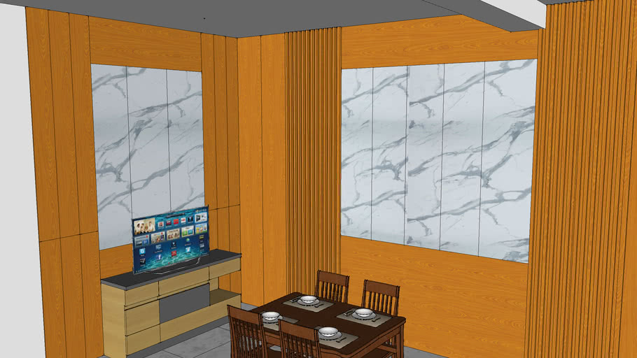 Vách ốp tường PVC