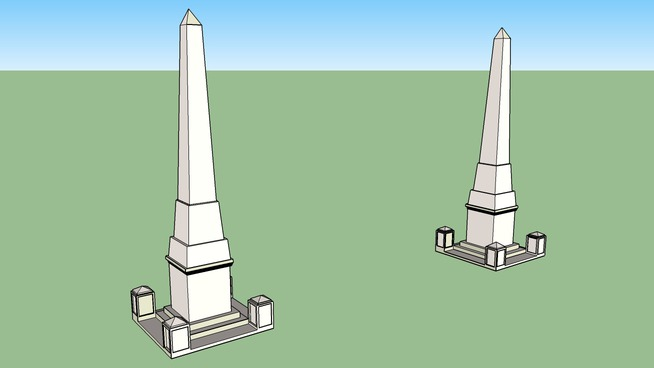 obeliscos de la costanera