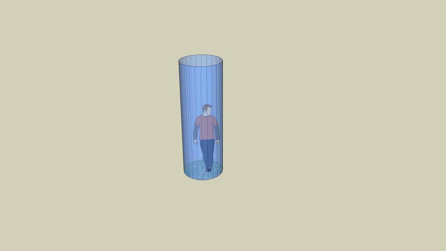 Glas gefängnis