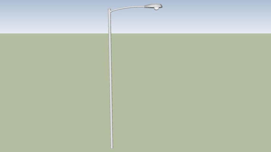 18ft tall street light