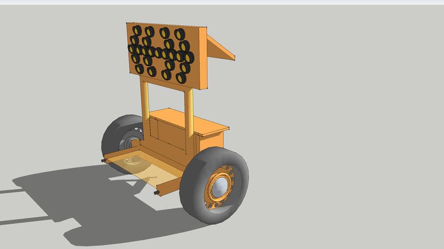 arrow board trailer