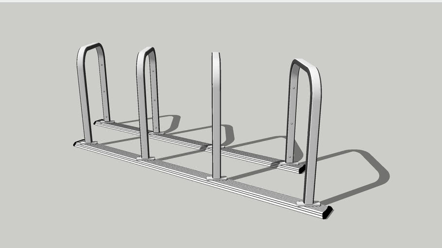 Bike Rack: The Burnside Bike Corral Skew 8
