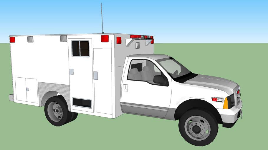 ambulance type l ford f350 model 2002