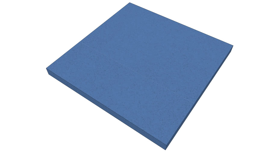 EliAcoustic Regular Panel 60.4 Pure Blue
