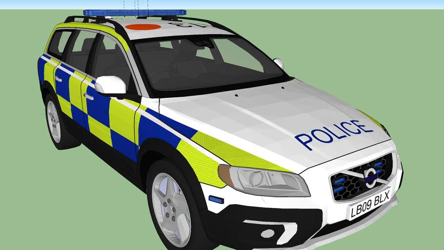 Volvo XC70 Police traffic car