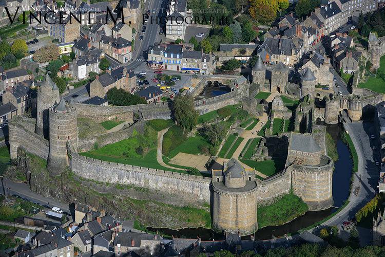 Cadres Chateau de Fougères