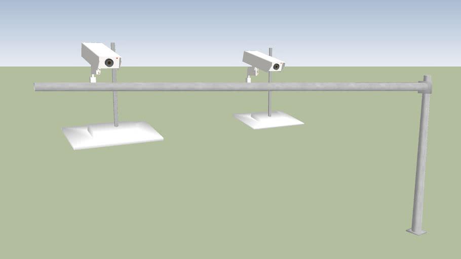 HOT Lanes transponder antennas