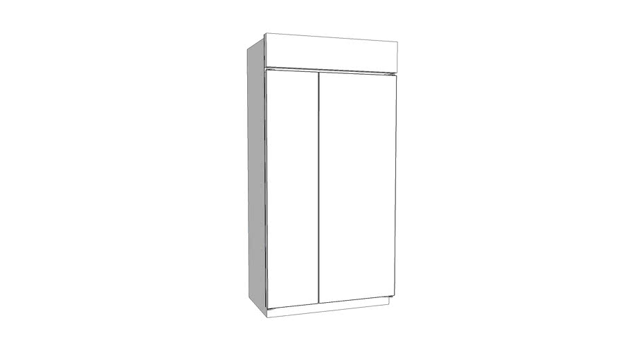 "42"" / 48"" Smart Built-In Side-by-Side Refrigerator"