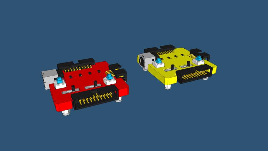 iDEA v1.0 intelligent Direct eMMC Adapter by samtech.id