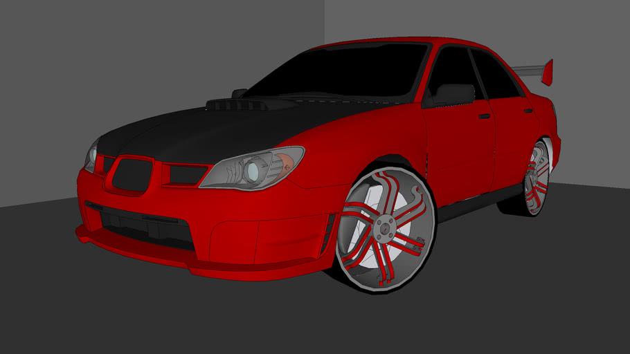 UGRC Subaru Impreza WRX STi C-KID Edition