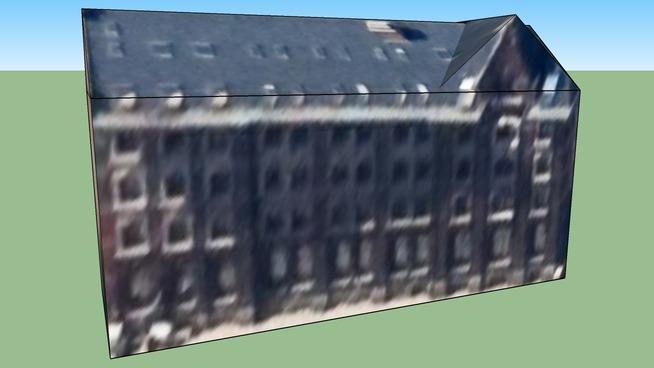 Building in Brussels, Belgium