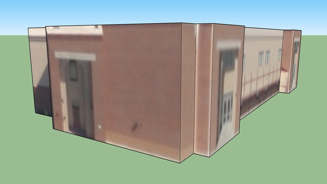 Roseville High School 900 building in Roseville, CA, USA