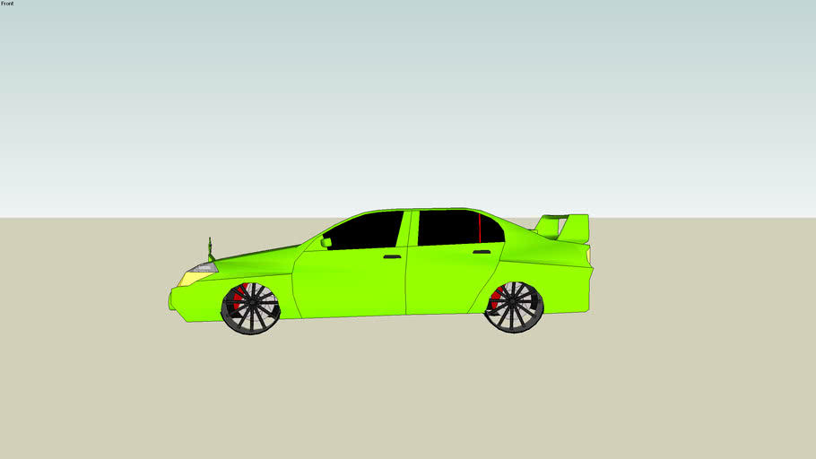 Velico Udeem Sedan (green)