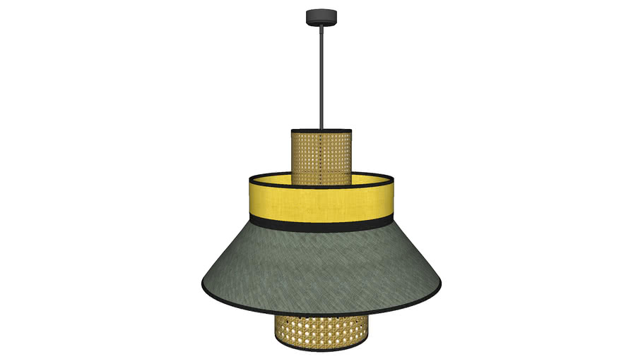 RATTAN HANGING LAMP